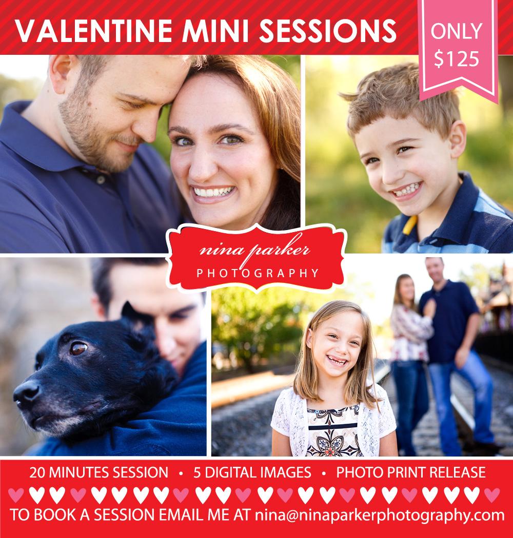 Nina Parker Valentine Mini Sessions 2013